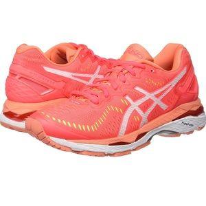 Asics Gel-Kayano 23 Running Shoe in Diva Pink 7.5